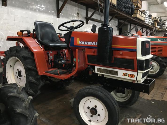 Трактори Yanmar F16 0 - Трактор БГ