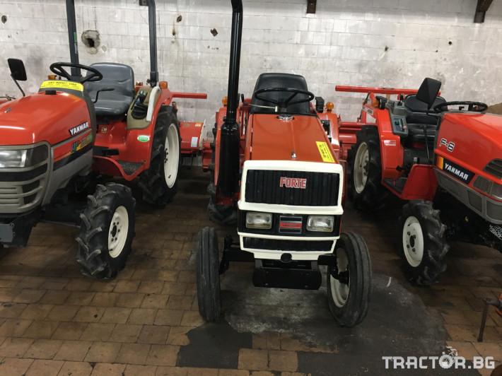 Трактори Yanmar F16 1 - Трактор БГ