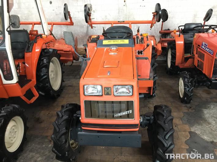 Трактори Hinomoto N200 1