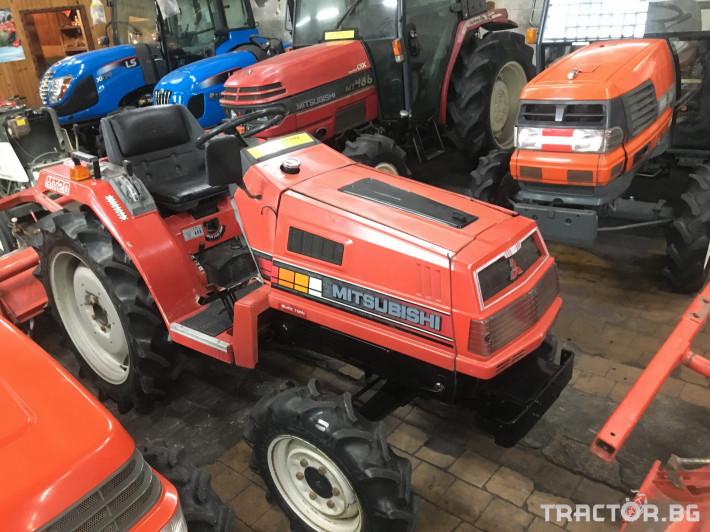 Трактори Mitsubishi MT20 1 - Трактор БГ