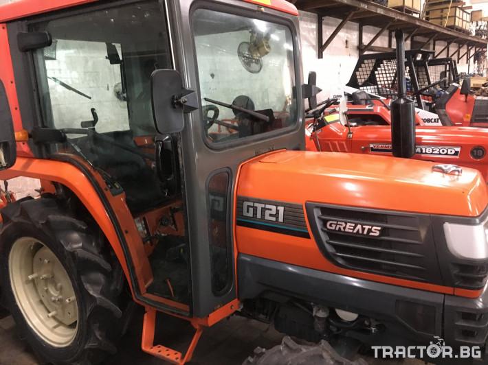 Трактори Kubota GT21DT 1 - Трактор БГ