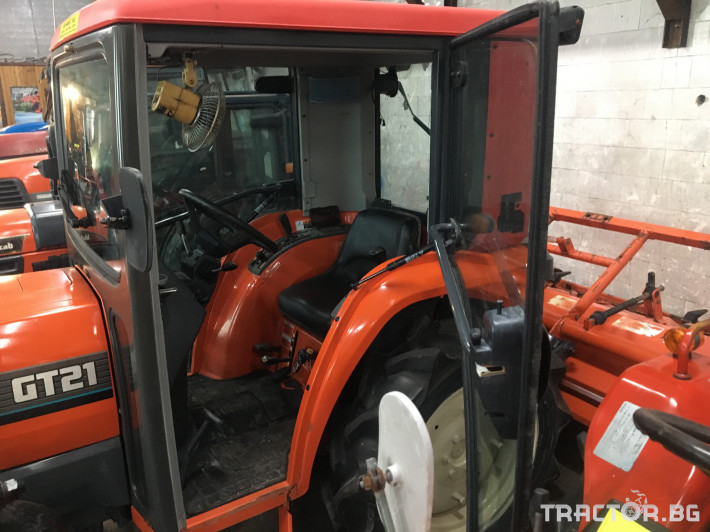 Трактори Kubota GT21DT 4 - Трактор БГ