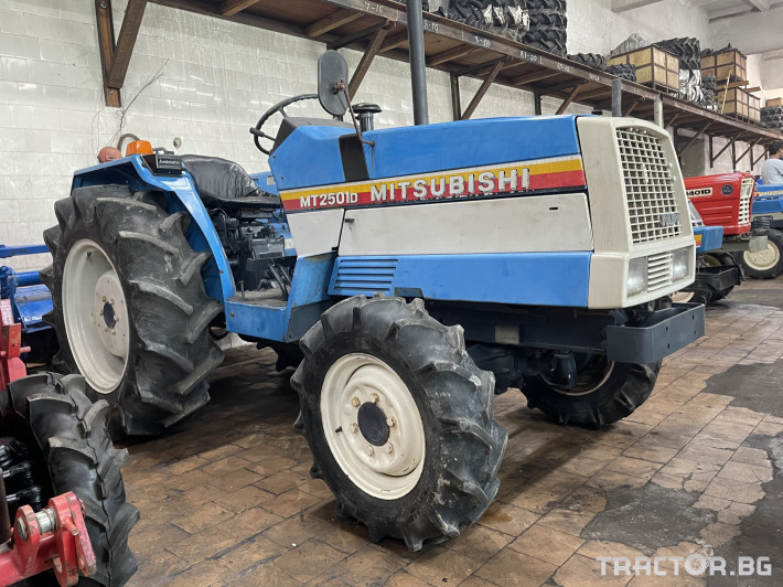 Трактори Mitsubishi MT2501D 0 - Трактор БГ