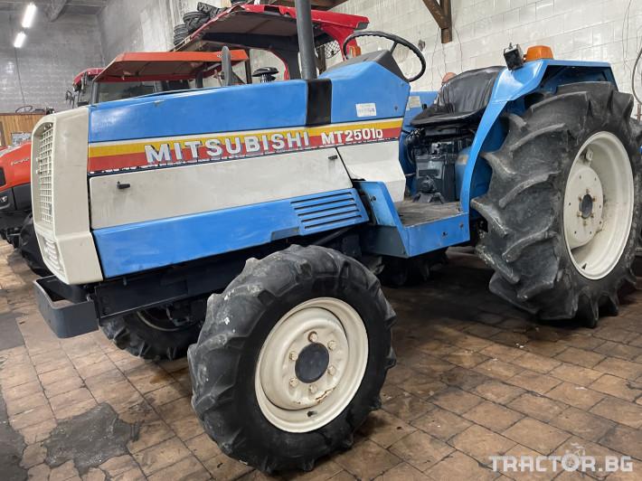 Трактори Mitsubishi MT2501D 5 - Трактор БГ