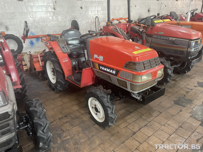 Трактори Yanmar F5 0 - Трактор БГ