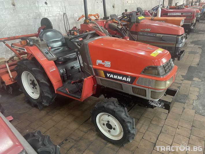 Трактори Yanmar F5 3 - Трактор БГ