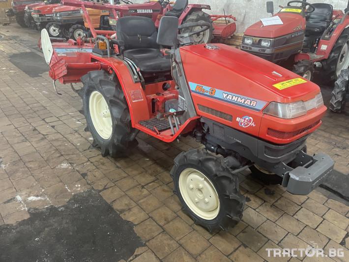 Трактори Yanmar KE-3 0 - Трактор БГ
