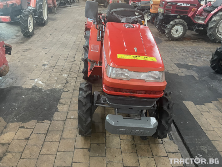 Трактори Yanmar KE-3 1 - Трактор БГ