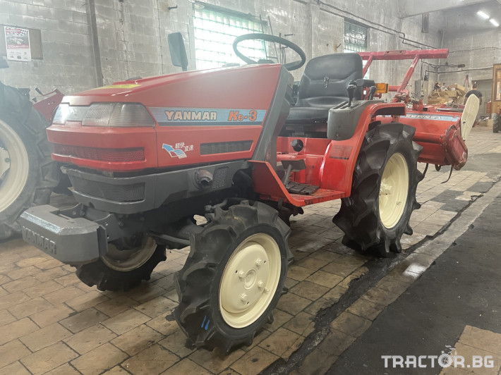 Трактори Yanmar KE-3 2 - Трактор БГ