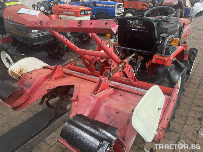 Трактори Yanmar KE-3 4 - Трактор БГ