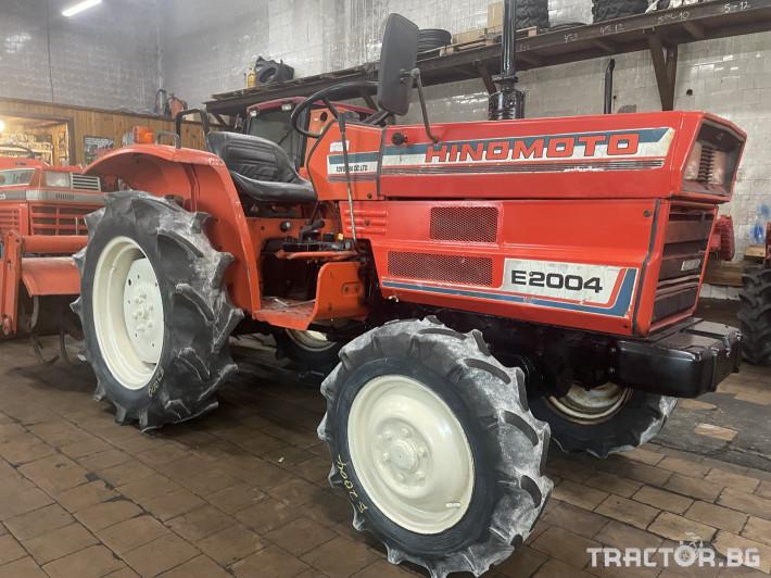 Трактори Hinomoto E2004 0 - Трактор БГ