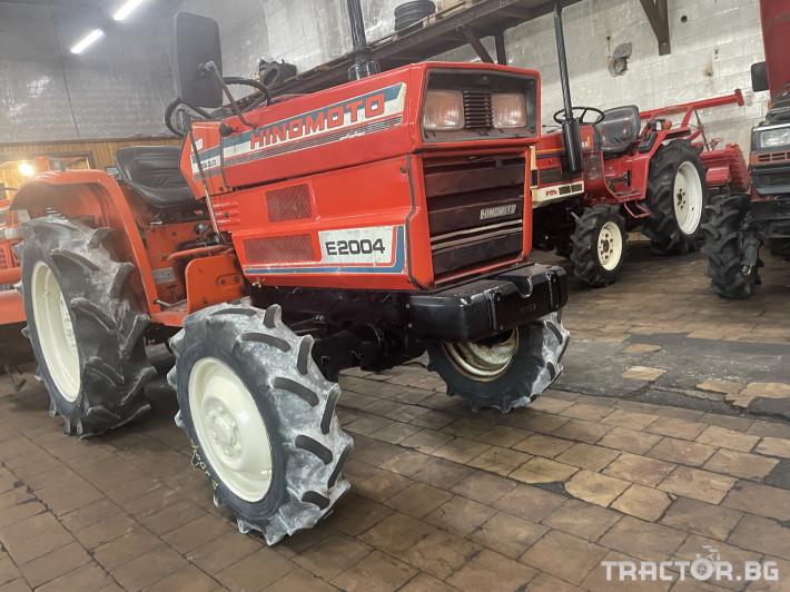 Трактори Hinomoto E2004 1 - Трактор БГ