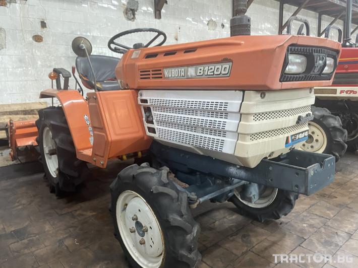 Трактори Kubota B1200 0 - Трактор БГ