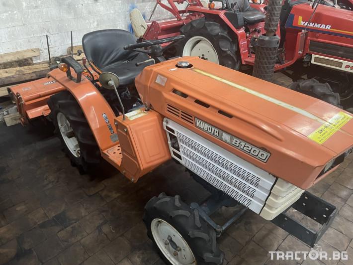 Трактори Kubota B1200 2 - Трактор БГ