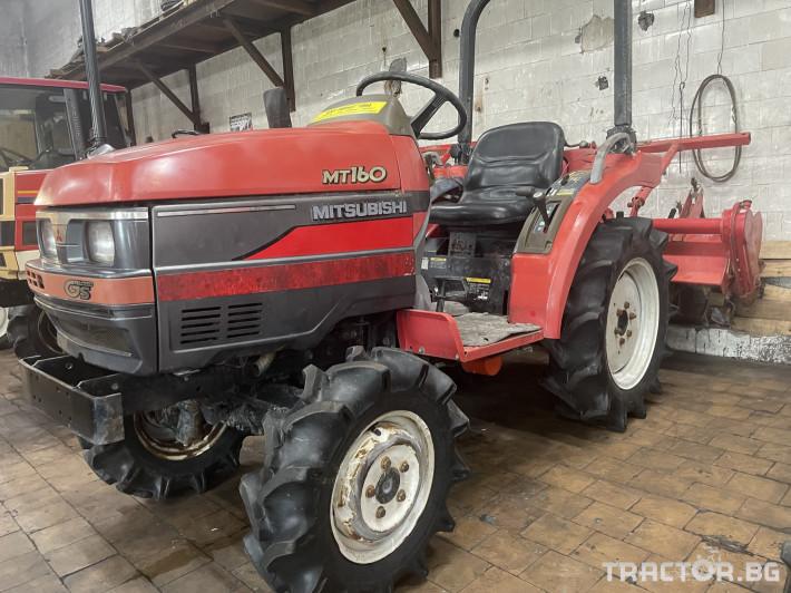 Трактори Mitsubishi MT160 0 - Трактор БГ