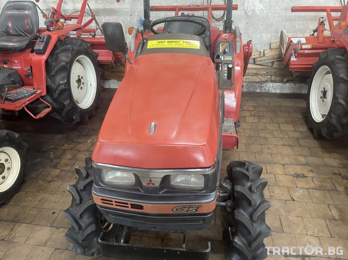 Трактори Mitsubishi MT160 1 - Трактор БГ