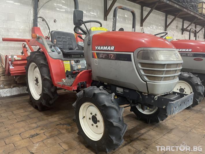Трактори Yanmar AF17 0 - Трактор БГ