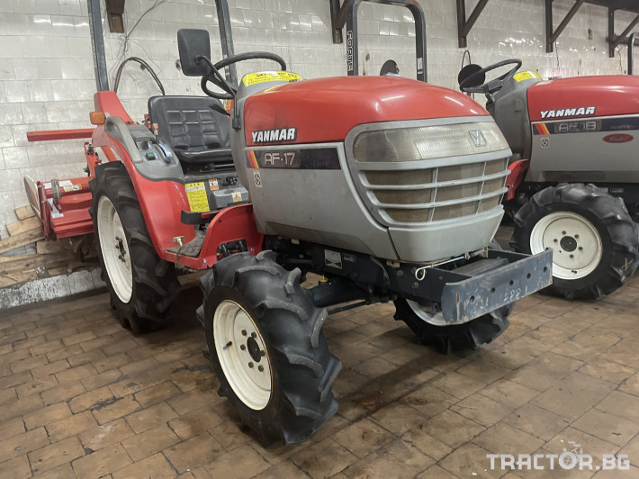 Трактори Yanmar AF17 1 - Трактор БГ