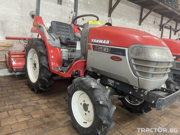 Трактори Yanmar AF18 0 - Трактор БГ