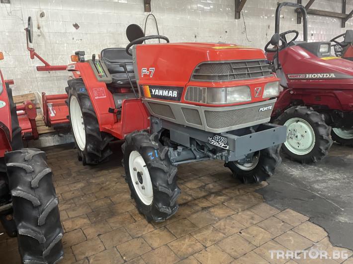 Трактори Yanmar F7 1 - Трактор БГ