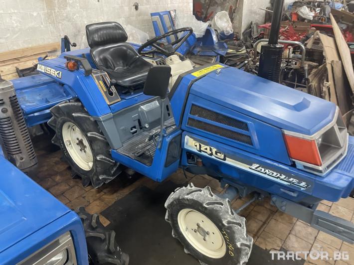 Трактори Iseki 140 1 - Трактор БГ