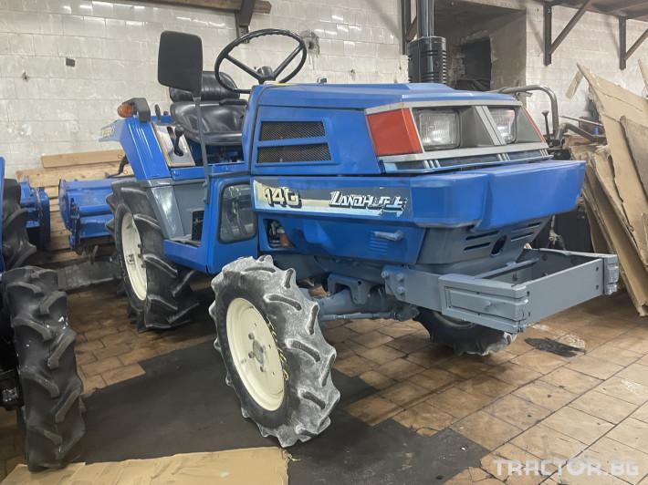 Трактори Iseki 140 4 - Трактор БГ