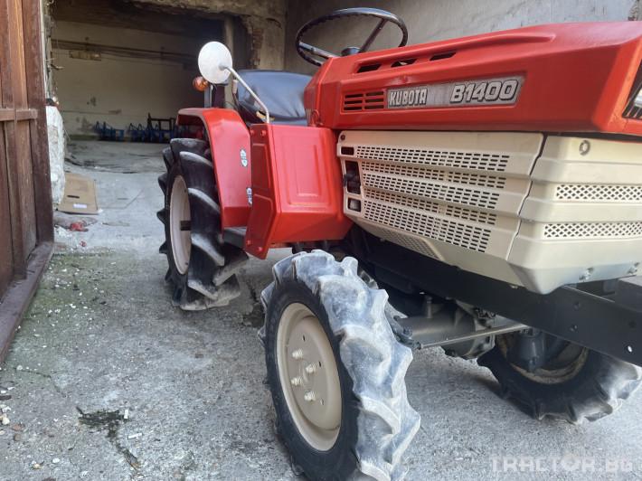 Трактори Kubota B1400 2 - Трактор БГ