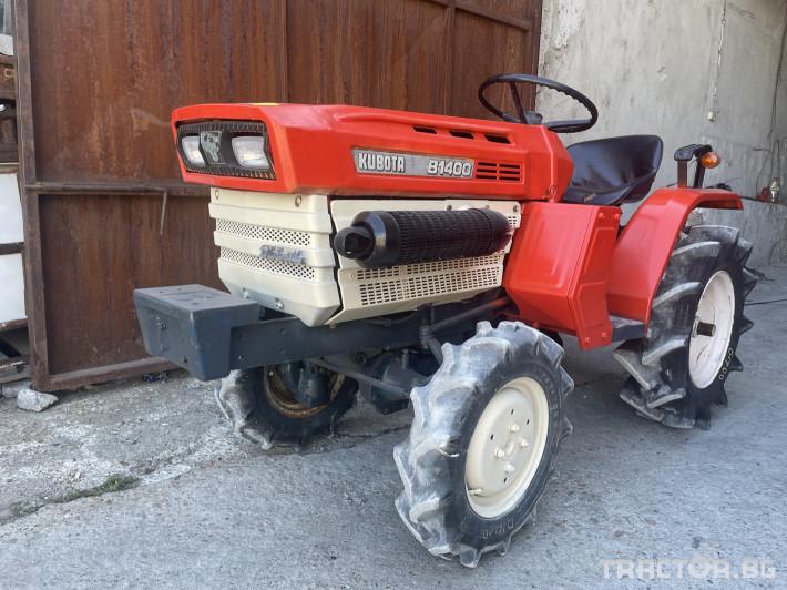 Трактори Kubota B1400 3 - Трактор БГ